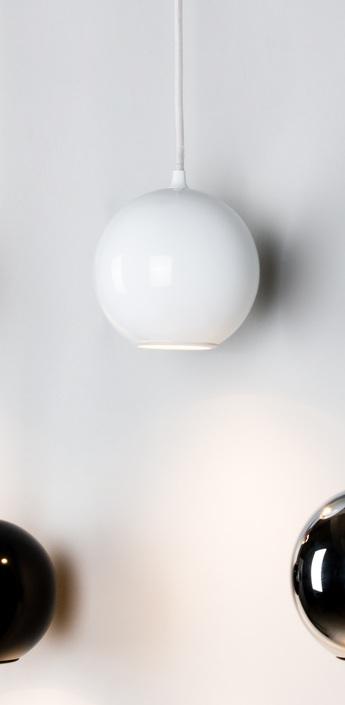 Suspension boule blanc o12cm innermost normal