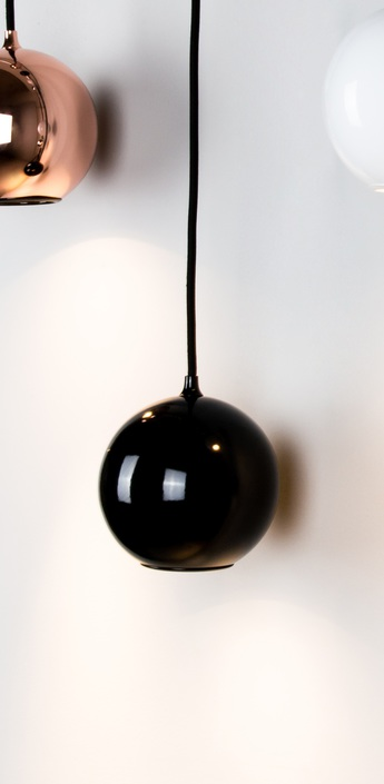 Suspension boule noir o12cm innermost normal