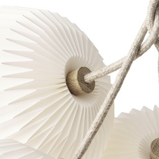 Bouquet 1 medium sinja svarrer damkjaer suspension pendant light  le klint 130m1  design signed nedgis 74333 thumb