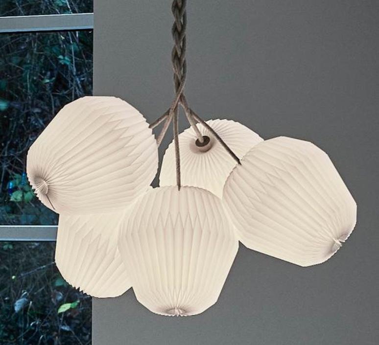 Bouquet 5 large sinja svarrer damkjaer suspension pendant light  le klint 130l5  design signed nedgis 74384 product
