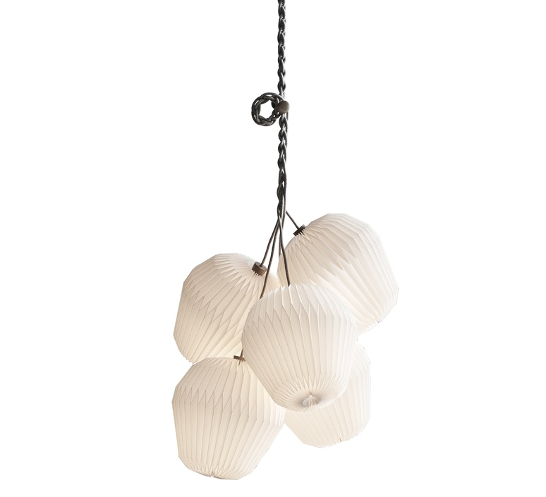 Bouquet 5 large sinja svarrer damkjaer suspension pendant light  le klint 130l5  design signed nedgis 74386 product