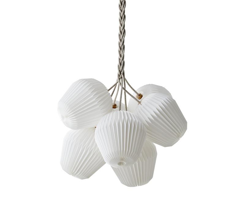 Bouquet 7 large sinja svarrer damkjaer suspension pendant light  le klint 130l7  design signed nedgis 74400 product