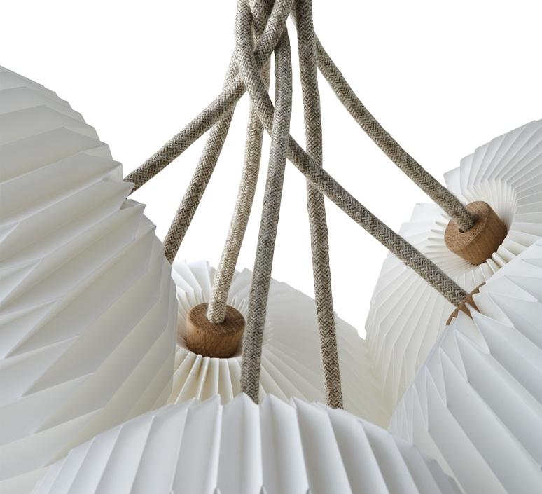 Bouquet 7 large sinja svarrer damkjaer suspension pendant light  le klint 130l7  design signed nedgis 74407 product