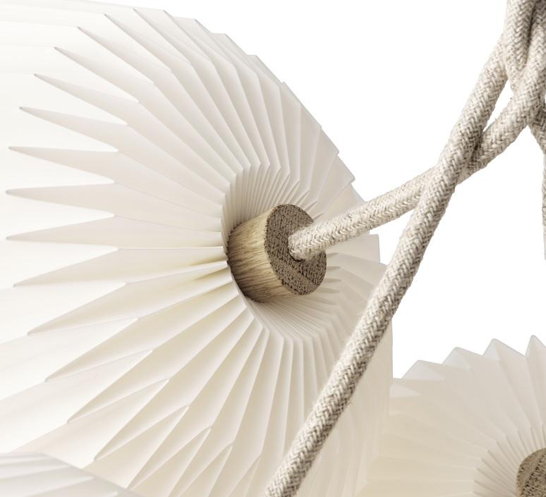 Bouquet 7 large sinja svarrer damkjaer suspension pendant light  le klint 130l7  design signed nedgis 74408 product
