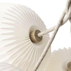 Bouquet 7 medium sinja svarrer damkjaer suspension pendant light  le klint 130m7  design signed nedgis 74393 thumb