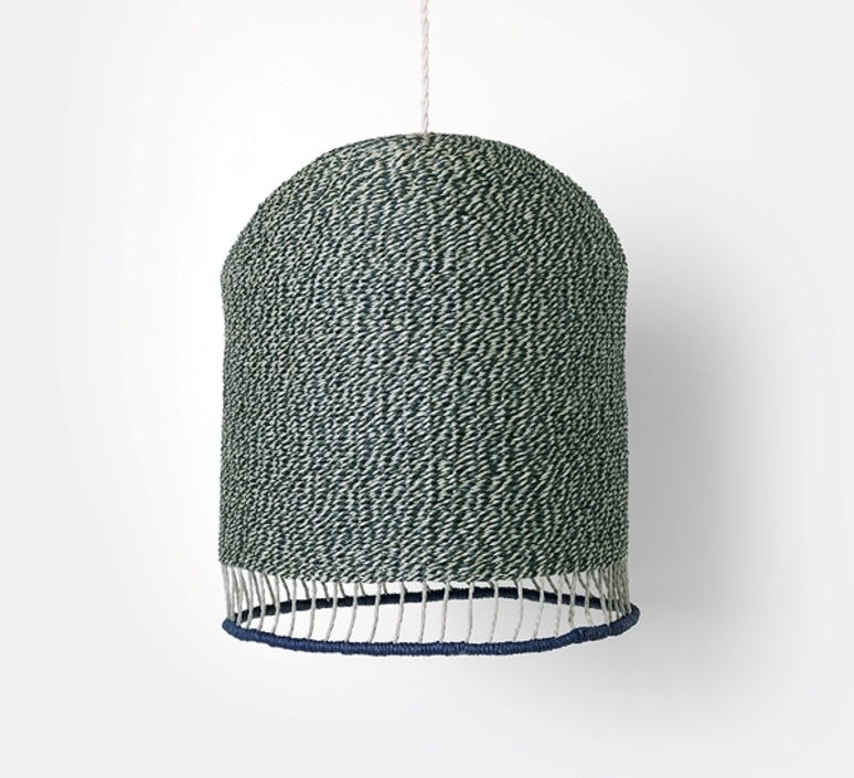 Braided lampshade  suspension pendant light  ferm living 9277  design signed 36954 product
