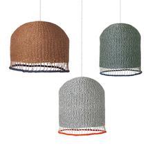Braided lampshade  suspension pendant light  ferm living 9277  design signed 36956 thumb