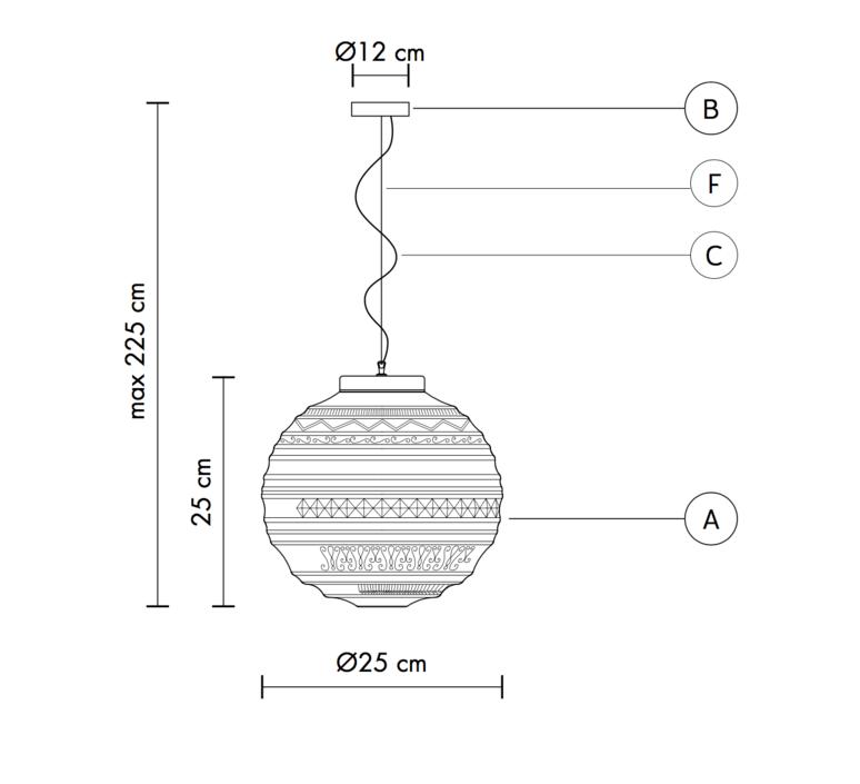 Braille matteo ugolini suspension pendant light  karman se144 1b int   design signed 37662 product
