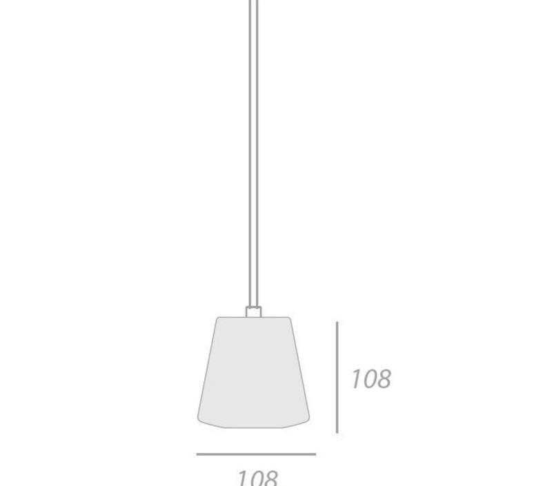 Bramah small michael young eoq bps grey luminaire lighting design signed 14460 product