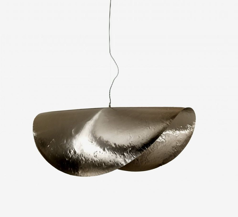 Brass 96 paola navone suspension pendant light  gervasoni brass silver 96  design signed nedgis 80975 product