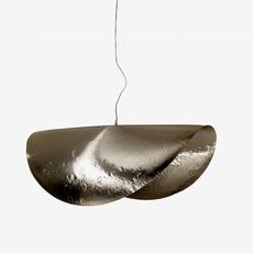 Brass 96 paola navone suspension pendant light  gervasoni brass silver 96  design signed nedgis 80975 thumb