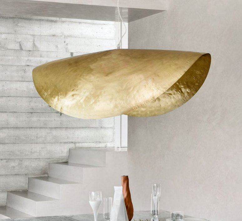 Brass 96 paola navone suspension pendant light  gervasoni brass 96  design signed 47759 product