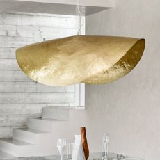 Brass 96 paola navone suspension pendant light  gervasoni brass 96  design signed 47759 thumb