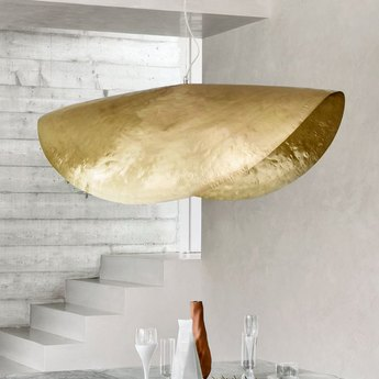 Suspension brass 96 laiton o120cm h42cm gervasoni normal
