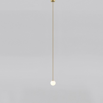 Suspension brass architecturale 150 blanc et laiton o15cm anastassiades studio normal
