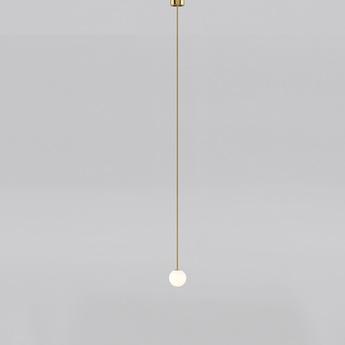 Suspension brass architecturale 150 blanc et laiton o15cm anastassiades studio normal