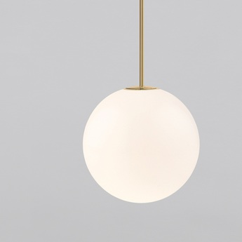 Suspension brass architecturale 80 blanc et laiton o8cm anastassiades studio copy of normal