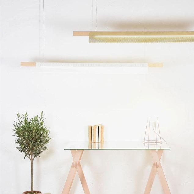 Pendant light bridget white h13cm eno studio nedgis lighting