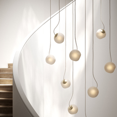 Bright barocco cable creme jonas hoejgaard suspension pendant light  nordic tales 111201  design signed nedgis 93125 thumb