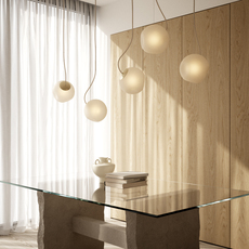 Bright barocco cable creme jonas hoejgaard suspension pendant light  nordic tales 111201  design signed nedgis 93126 thumb