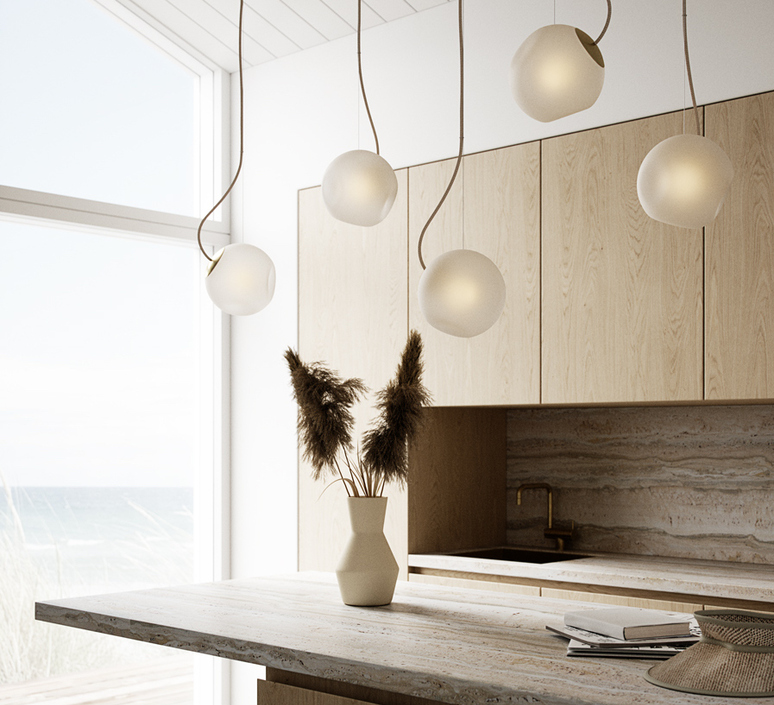 Bright barocco cable creme jonas hoejgaard suspension pendant light  nordic tales 111201  design signed nedgis 93128 product