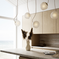 Bright barocco cable creme jonas hoejgaard suspension pendant light  nordic tales 111201  design signed nedgis 93128 thumb