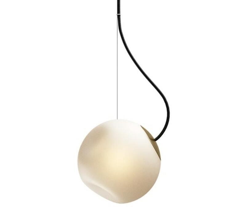 Bright barocco cable noir jonas hoejgaard suspension pendant light  nordic tales 111202  design signed nedgis 93121 product