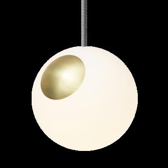 Suspension bright spot blanc or cable zebra o20cm h20cm nordic tales normal