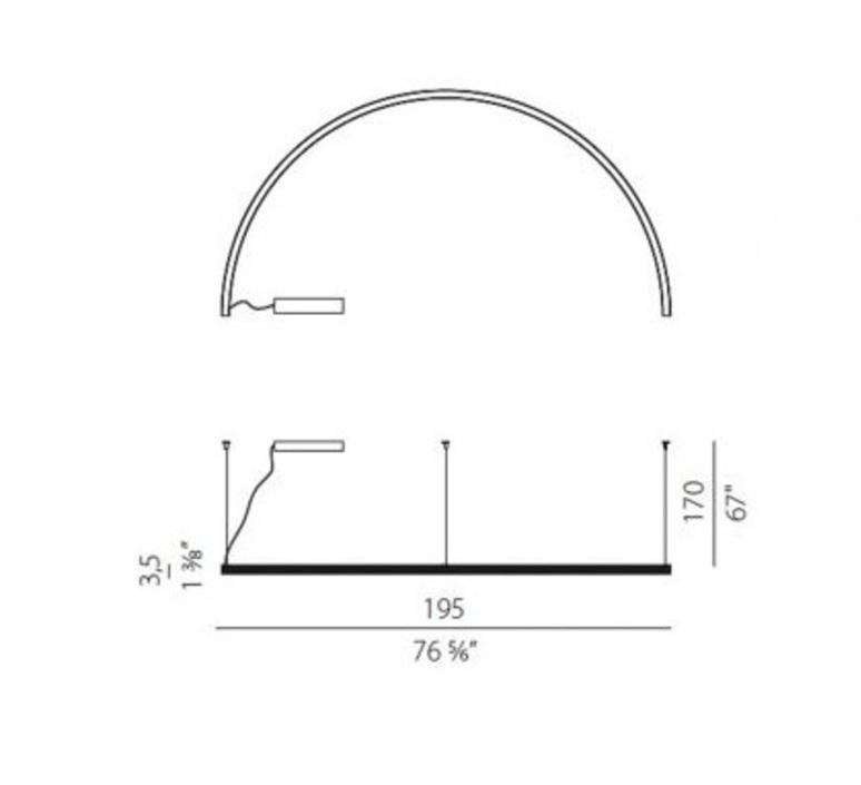 Brooklyn round 180  enzo panzeri suspension pendant light  panzeri l23101 180 0402  design signed nedgis 88593 product