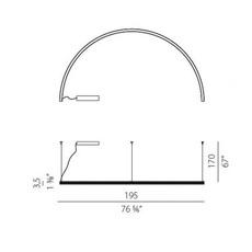 Brooklyn round 180  enzo panzeri suspension pendant light  panzeri l23101 180 0402  design signed nedgis 88593 thumb