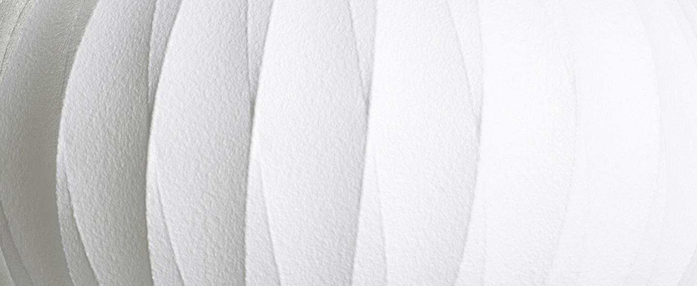 Suspension bubble pear crisscross m blanc o43cm h48 5cm hay normal