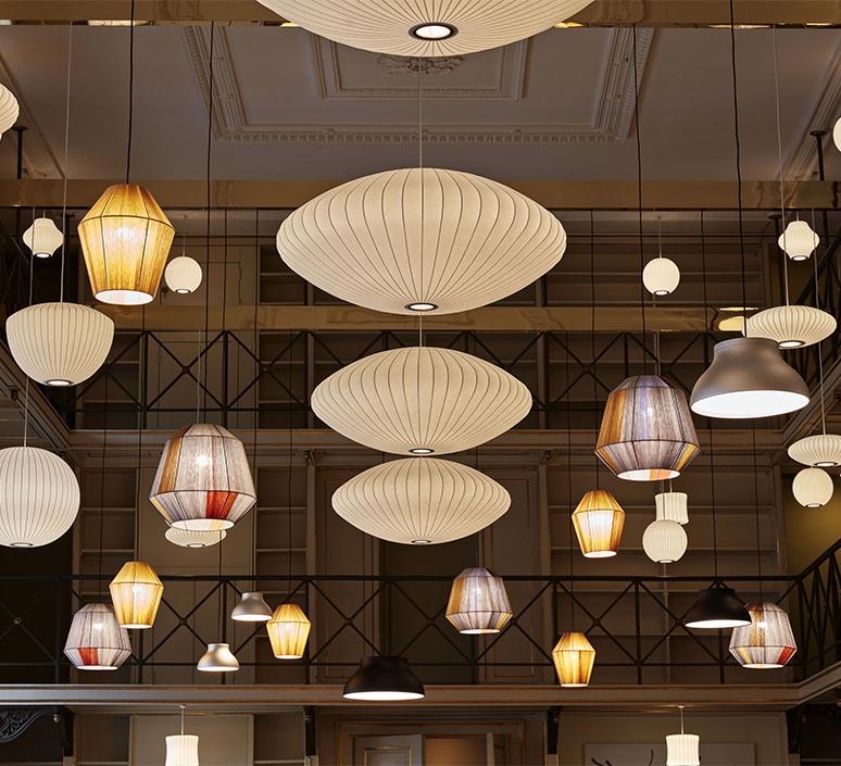 Bubble saucer l george nelson suspension pendant light  hay 936341  design signed nedgis 104945 product