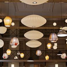 Bubble saucer l george nelson suspension pendant light  hay 936341  design signed nedgis 104945 thumb