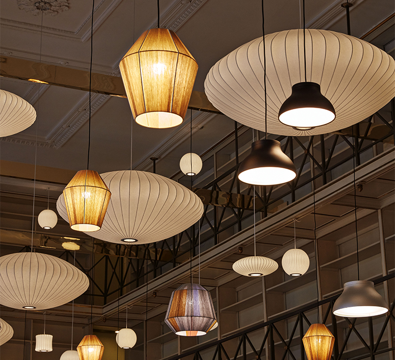 Bubble saucer l george nelson suspension pendant light  hay 936341  design signed nedgis 104946 product