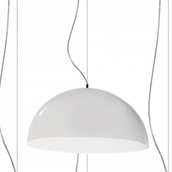 Suspension bubbles blanc o55cm martinelli luce normal