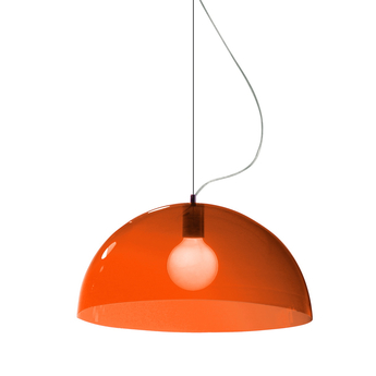 Suspension bubbles orange o55cm martinelli luce normal
