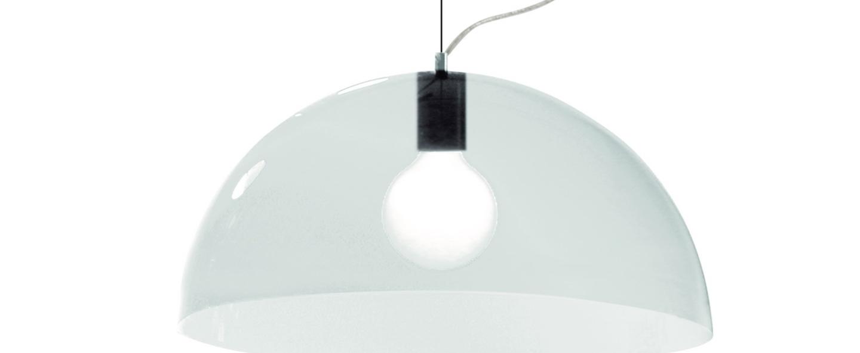 Suspension bubbles transparent o45cm martinelli luce normal