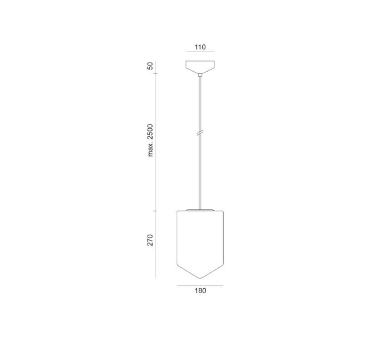 Bullet pendant benjamin hopf suspension pendant light  formagenda 240 10  design signed 30395 product