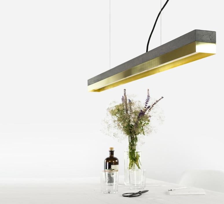 C1 oak pendant light  stephan gants gantlights c1 hg es luminaire lighting design signed 75620 product