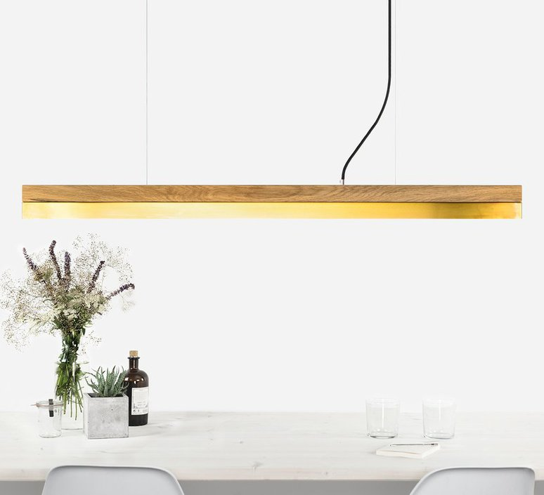 C1o brass stefan gant suspension pendant light  gantlights c1o hg ms   design signed 36710 product