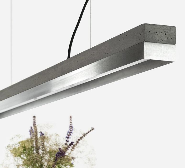C1 oak pendant light  stephan gants gantlights c1 hg es luminaire lighting design signed 75523 product