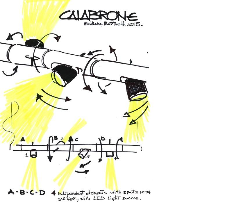 Calabrone emiliana martinelli martinelli luce 2090 ne luminaire lighting design signed 23868 product