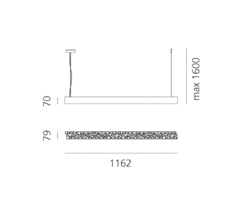 Lesbo quaglio simonelli suspension pendant light  artemide 0054010a  design signed nedgis 75595 product
