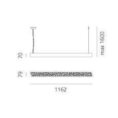 Lesbo quaglio simonelli suspension pendant light  artemide 0054010a  design signed nedgis 75595 thumb