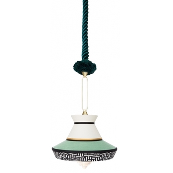 Suspension calypso so guadaloupe menthe o36cm h63cm contardi normal