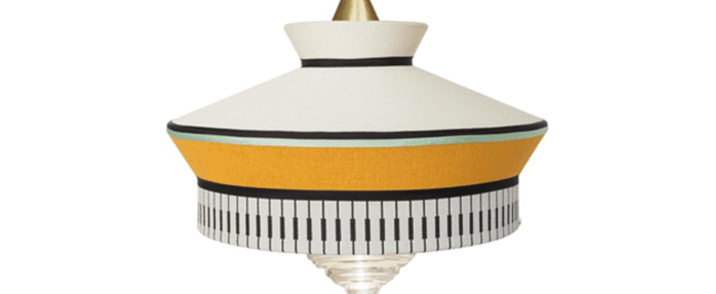 Suspension calypso so martinique jaune o39cm h63cm contardi normal