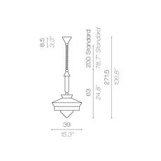Calypso so outdoor martinique servomuto suspension pendant light  contardi acam 002162  design signed nedgis 88059 thumb