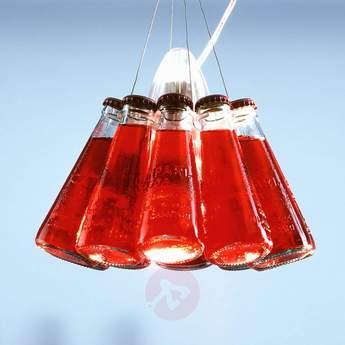 Suspension campari light rouge o23cm h155cm ingo maurer normal
