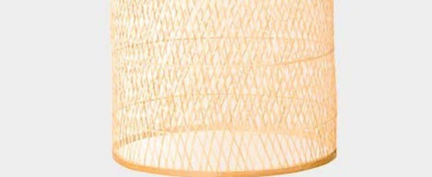 Suspension cap large naturel o48cm h110cm ay illuminate normal