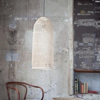 Suspension cap large naturel o48cm h110cm ay illuminate normal